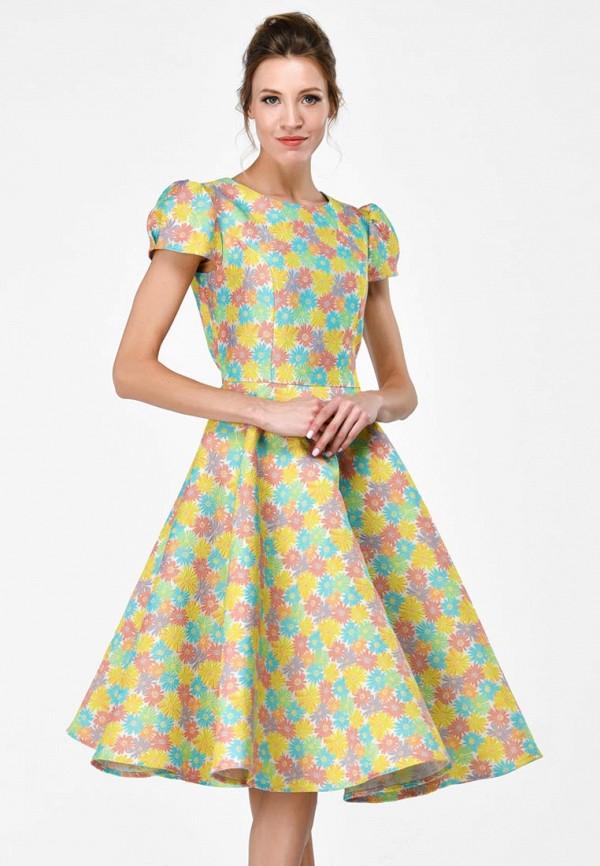 Купить Платье Alisia Fiori, Каролина W, MP002XW15HOY, разноцветный, Весна-лето 2018