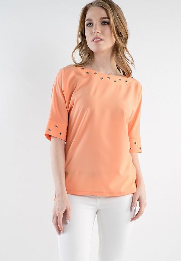Купить Блуза MARI VERA, MP002XW15I62, оранжевый, Весна-лето 2018