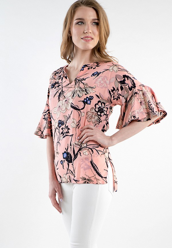 Купить Блуза MARI VERA, MP002XW15I64, розовый, Весна-лето 2018