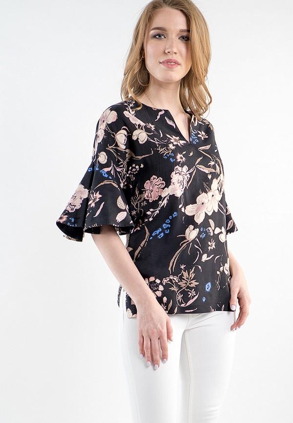 Купить Блуза MARI VERA, MP002XW15I65, черный, Весна-лето 2018