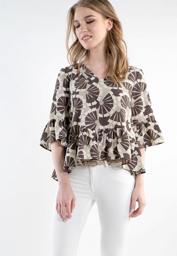 Купить Блуза MARI VERA, MP002XW15I66, бежевый, Весна-лето 2018