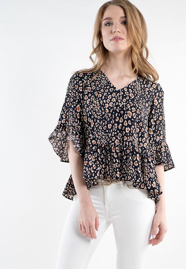 Купить Блуза MARI VERA, MP002XW15I67, черный, Весна-лето 2018