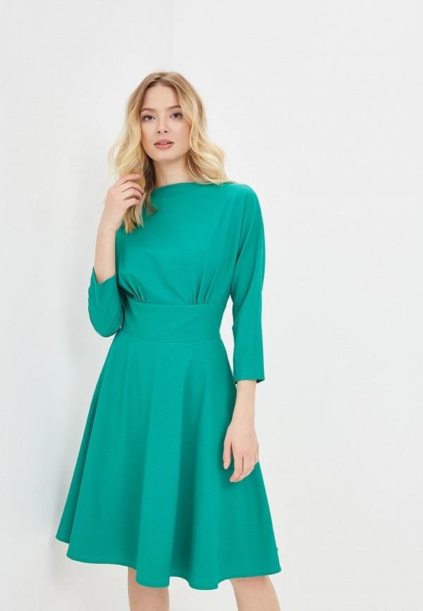 Купить Платье Galina Vasilyeva, MP002XW15IFJ, зеленый, Весна-лето 2018