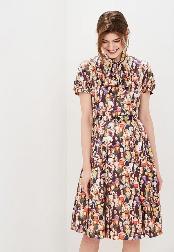 Купить Платье Galina Vasilyeva, MP002XW15IFY, разноцветный, Весна-лето 2018