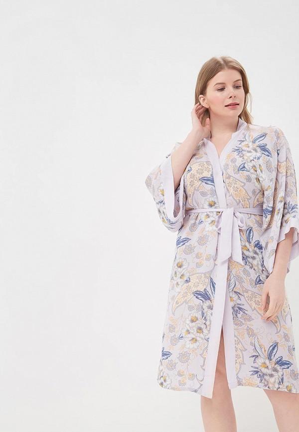 Купить Халат домашний Mia-Mia, MP002XW15IID, фиолетовый, Весна-лето 2018