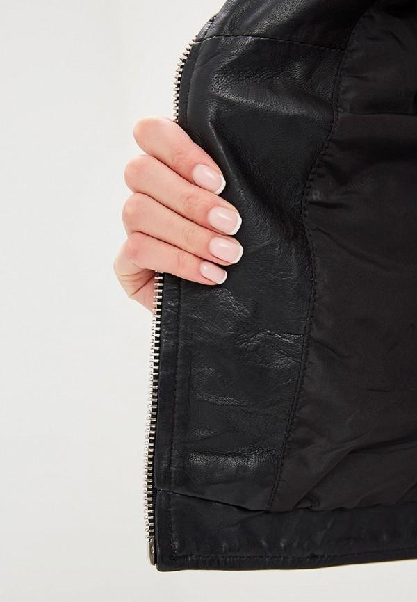 Фото Куртка кожаная La Reine Blanche. Купить в РФ