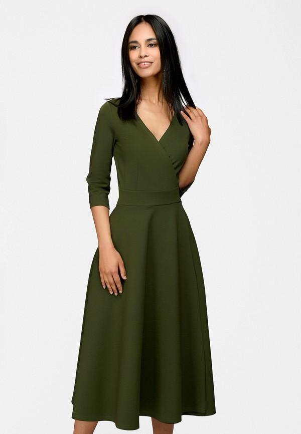 Купить Платье 1001dress, MP002XW15KFF, хаки, Весна-лето 2018