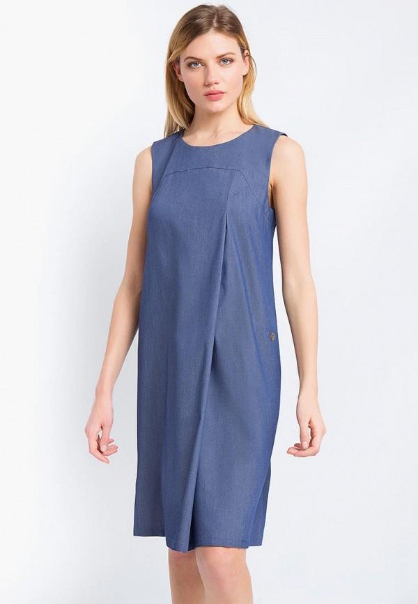 Купить Платье Finn Flare, CHAPURIN for FINN FLARE, MP002XW15KWE, синий, Весна-лето 2018