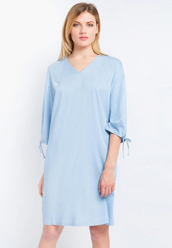 Купить Платье Finn Flare, CHAPURIN for FINN FLARE, MP002XW15KWG, голубой, Весна-лето 2018