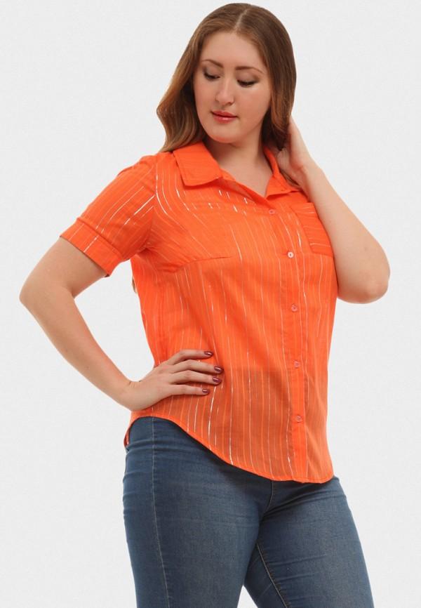 Купить Рубашка XLady, MP002XW16P0Y, оранжевый, Весна-лето 2018