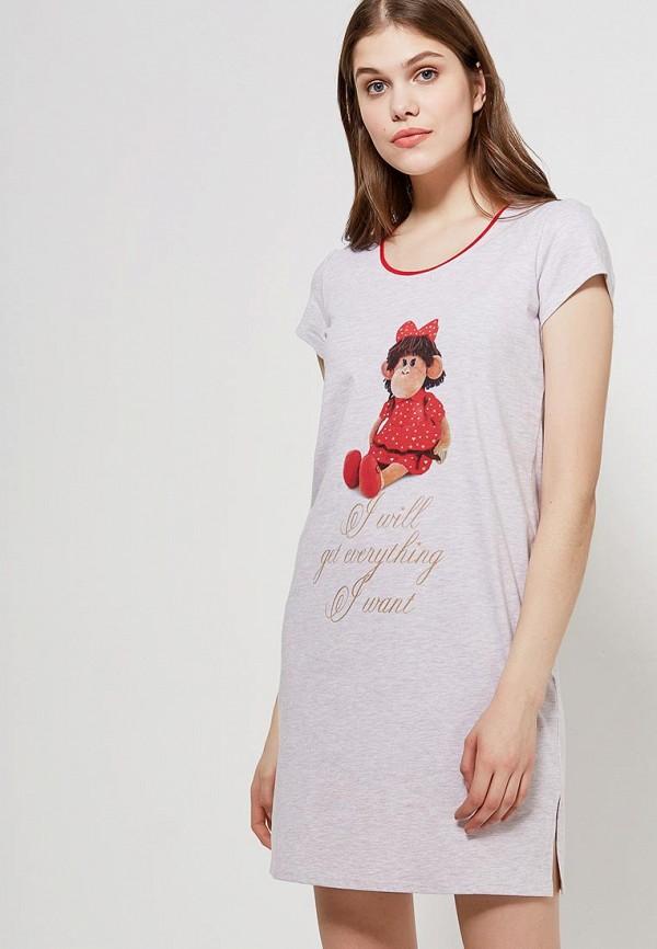 Сорочка ночная Cleo Cleo MP002XW16ZUX ночные сорочки linse ночная сорочка