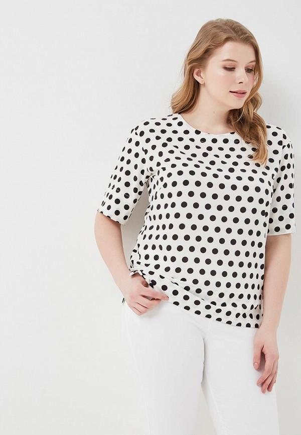 Купить Блуза Balsako, Блуза Жасмин горох, MP002XW170FV, белый, Весна-лето 2018