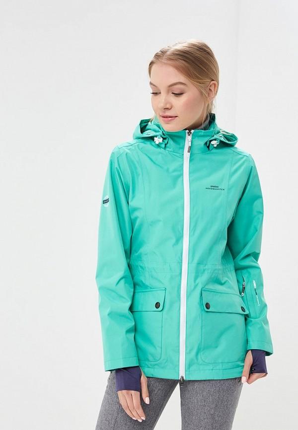 Куртка горнолыжная Snow Headquarter цвет зелёный сезон весна, демисезон, лето страна Китай размер 42, 44, 46, 48, 50