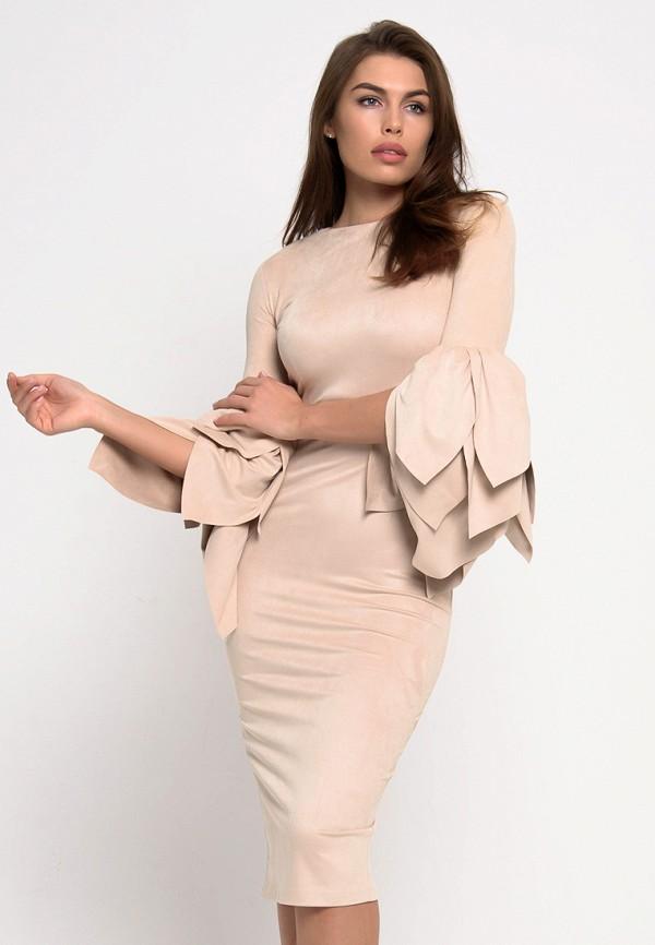 Купить Платье KOT'S, MP002XW18O14, бежевый, Весна-лето 2018