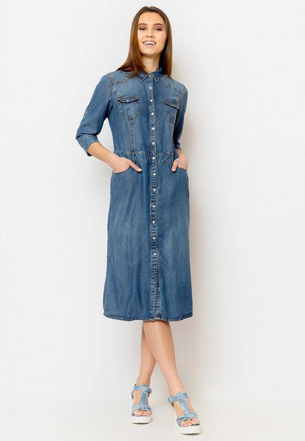 Платье джинсовое Finn Flare Finn Flare MP002XW18TZR платье джинсовое finn flare finn flare mp002xw18ur2