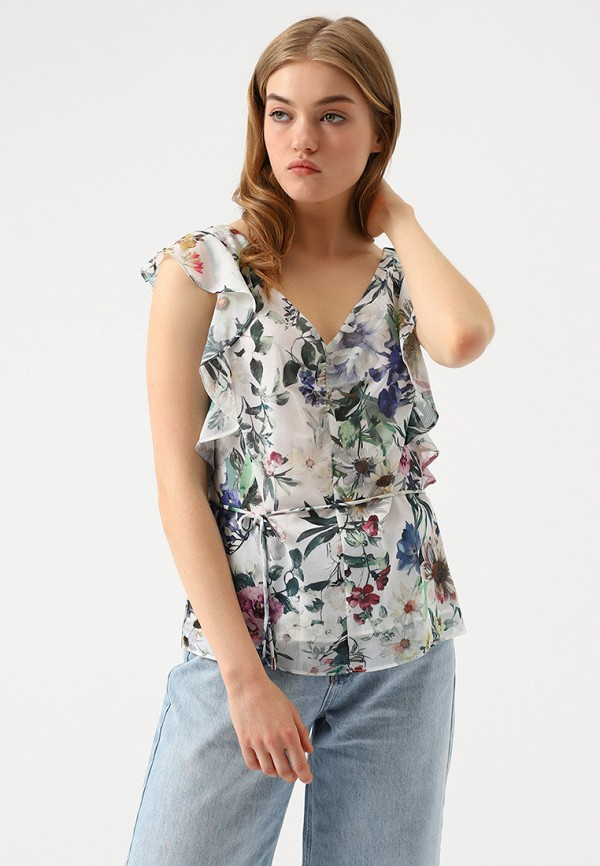 Купить Блуза Lime, MP002XW18UBM, белый, Весна-лето 2018