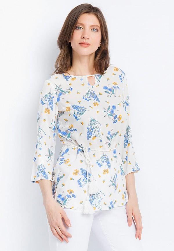 Купить Блуза Finn Flare, MP002XW18UFO, белый, Весна-лето 2018