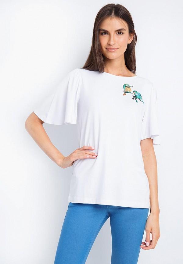 Купить Блуза Finn Flare, MP002XW18UFU, белый, Весна-лето 2018