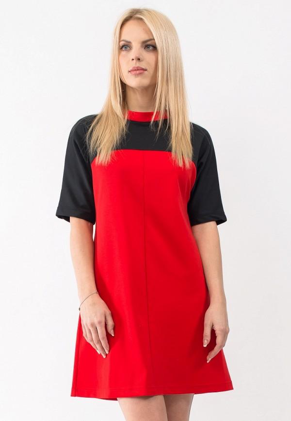 Купить Платье Gloss, MP002XW18VFO, красный, Весна-лето 2018