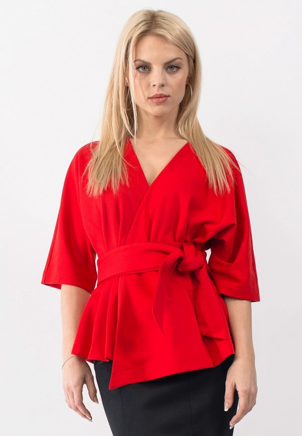 Жакет Gloss, MP002XW18VFT, красный, Весна-лето 2018  - купить со скидкой