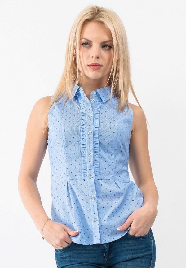 Рубашка Gloss, MP002XW18VG4, голубой, Весна-лето 2018  - купить со скидкой