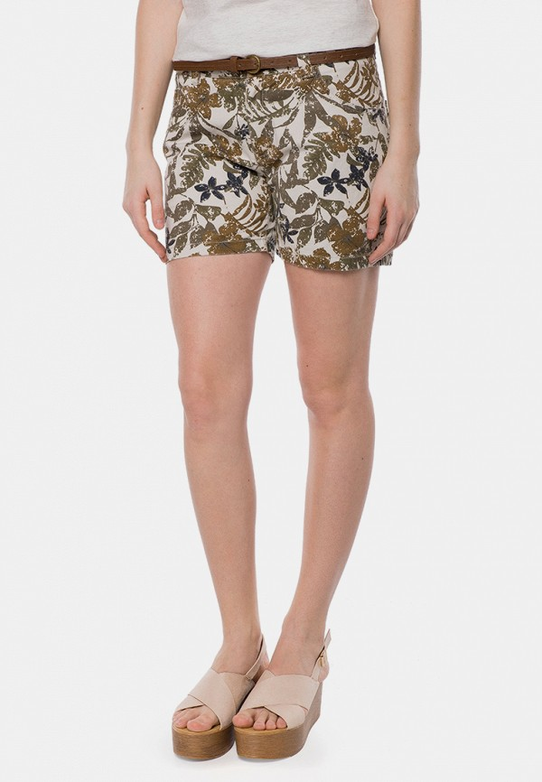 Фото - женские шорты MR520 бежевого цвета