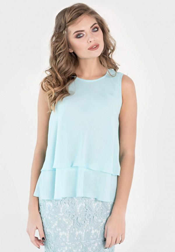 Блуза Filigrana, MP002XW18W8W, голубой, Весна-лето 2018  - купить со скидкой