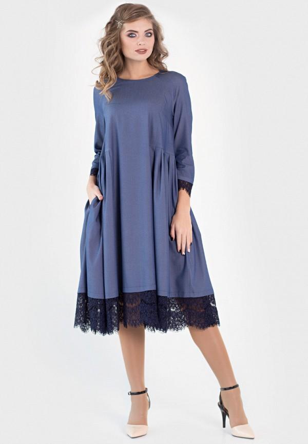 Купить Платье Filigrana, MP002XW18WBF, синий, Весна-лето 2018
