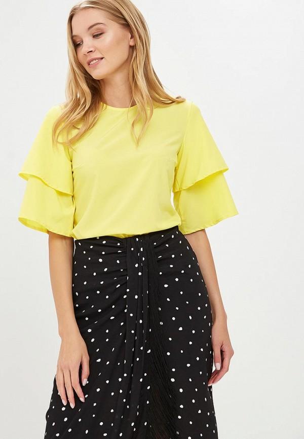 Купить Блуза Froggi, MP002XW18X17, желтый, Весна-лето 2018