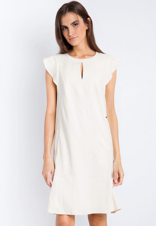 Купить Платье Finn Flare, CHAPURIN for FINN FLARE, MP002XW18YI0, бежевый, Весна-лето 2018