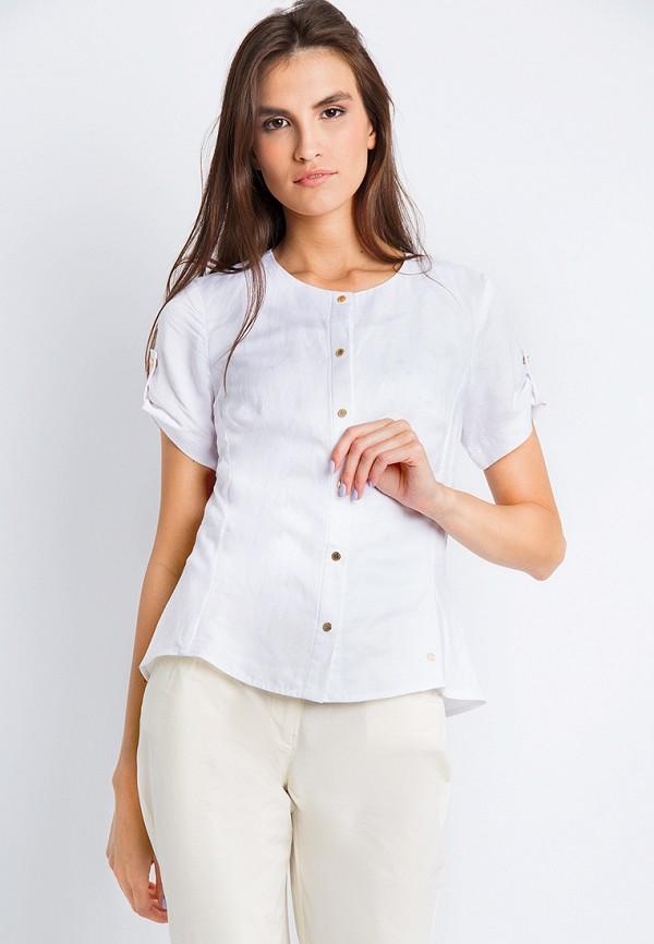 Купить Блуза Finn Flare, MP002XW18ZRR, белый, Весна-лето 2018