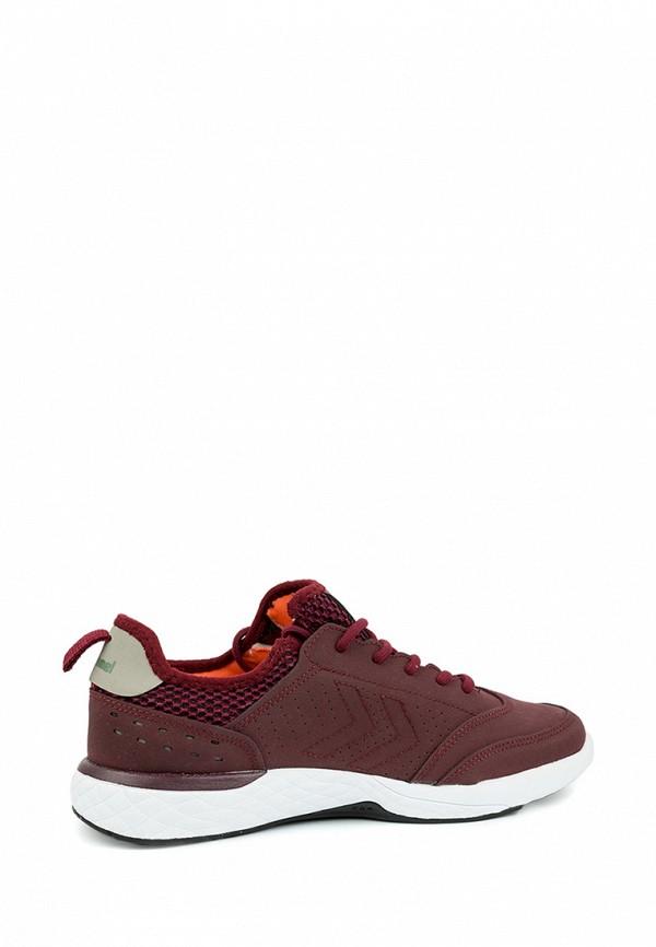 Фото 2 - женские кроссовки Hummel бордового цвета