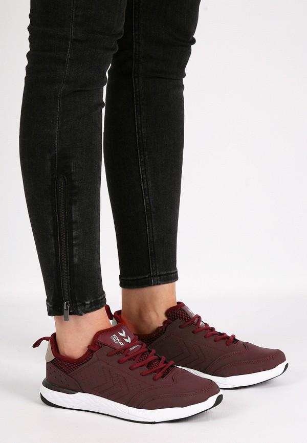 Фото 9 - женские кроссовки Hummel бордового цвета