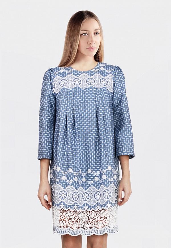 Платье джинсовое Anastasya Barsukova Anastasya Barsukova MP002XW1ABE1