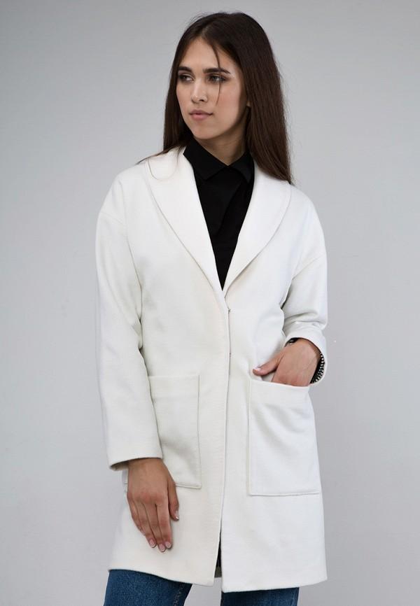 Пальто MirrorStore. Цвет: белый