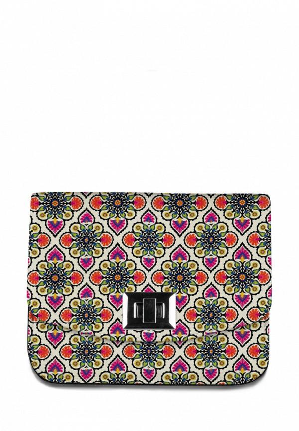 Сумка Mahaon Mahaon MP002XW1ADS4 махаон женская сумка с принтом цветы кожаная mahaon