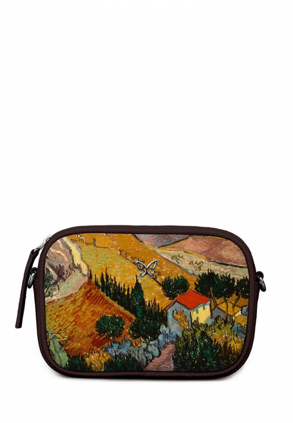 Сумка Mahaon Mahaon MP002XW1ADSM махаон женская сумка с принтом цветы кожаная mahaon