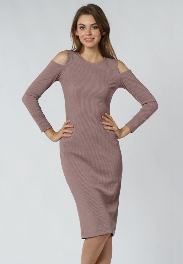 evercode платье 1604 1210 1230 кофейный Платье Evercode Evercode MP002XW1AIUQ