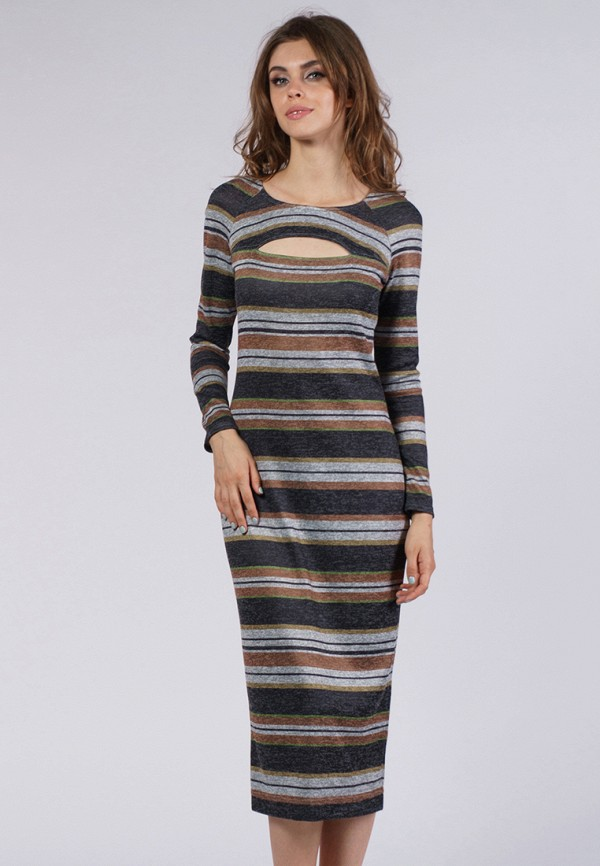 evercode платье 1604 1210 1230 кофейный Платье Evercode Evercode MP002XW1AIV0