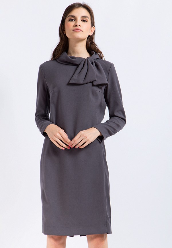 Купить Платье Finn Flare, CHAPURIN for FINN FLARE, MP002XW1AIX6, серый, Осень-зима 2017/2018