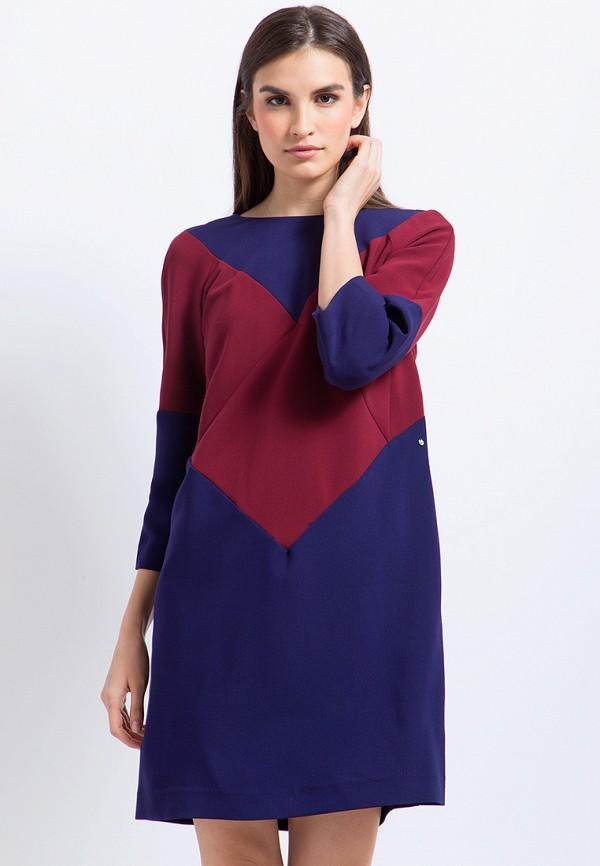 Платье Finn Flare, CHAPURIN for FINN FLARE, MP002XW1AIXG, синий, Осень-зима 2017/2018  - купить со скидкой