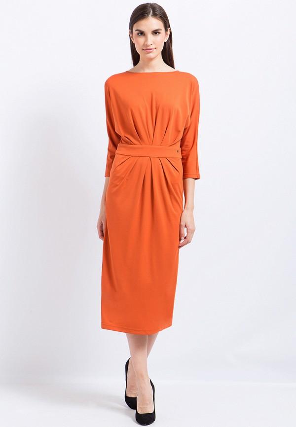 Купить Платье Finn Flare, CHAPURIN for FINN FLARE, MP002XW1AIXT, оранжевый, Осень-зима 2017/2018