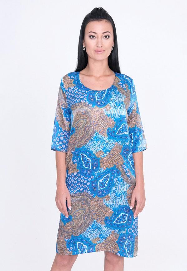 Купить Платье Лярго, MP002XW1AJB4, голубой, Осень-зима 2017/2018
