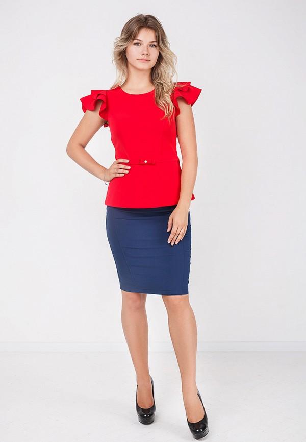 Фото 2 - женскую юбку Zubrytskaya синего цвета