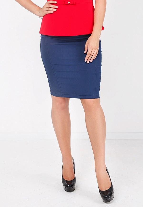 Фото - женскую юбку Zubrytskaya синего цвета