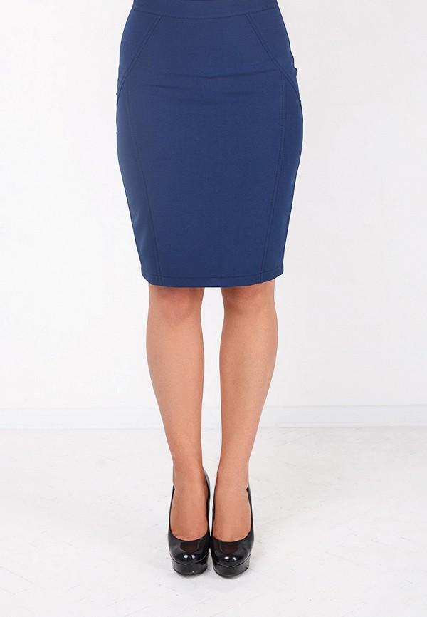 Фото 3 - женскую юбку Zubrytskaya синего цвета