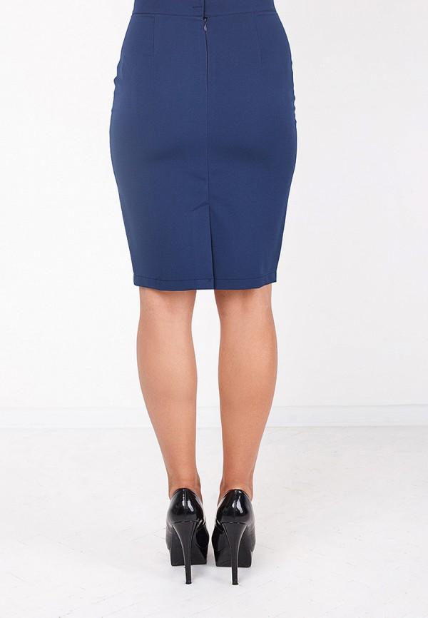 Фото 4 - женскую юбку Zubrytskaya синего цвета