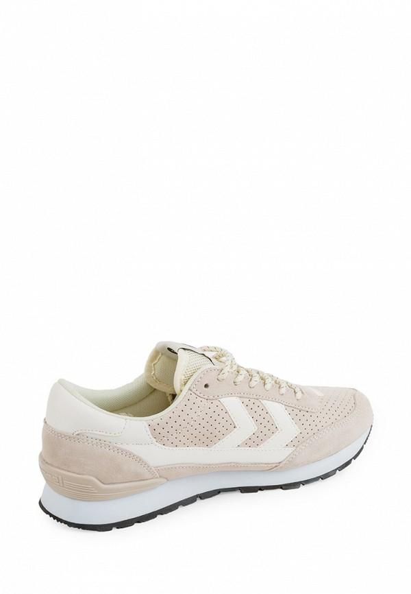 Фото 6 - женские кроссовки Hummel бежевого цвета
