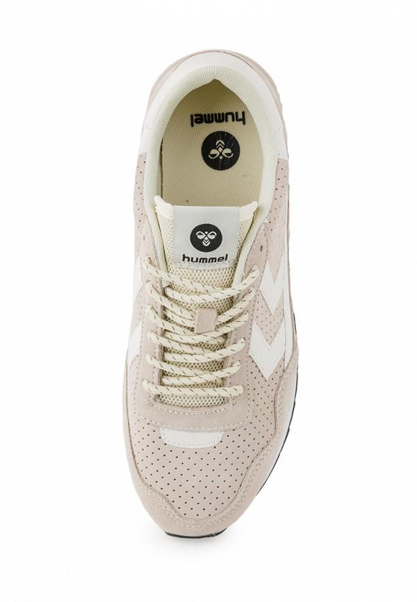 Фото 3 - женские кроссовки Hummel бежевого цвета