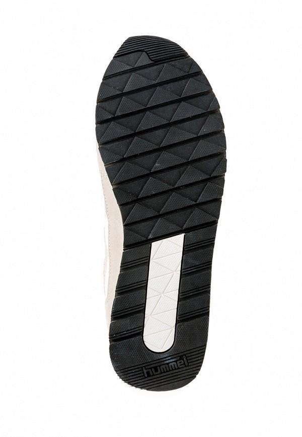 Фото 4 - женские кроссовки Hummel бежевого цвета